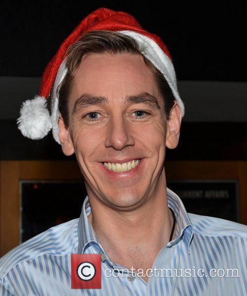 Celebrities outside the RTE studios for Ryan Tubridy's...