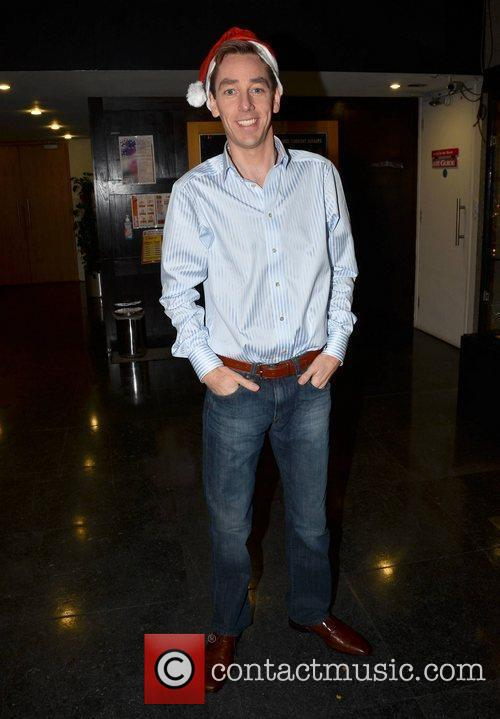 Ryan Tubridy Celebrities outside the RTE studios for...