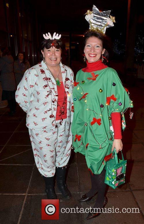 Teresa Glendinning, Michelle J Celebrities outside the RTE...