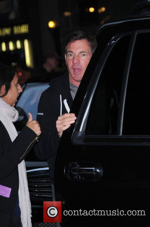 Dennis Quaid at the 'Late Show with David...