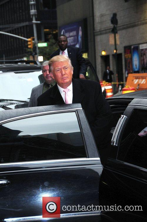 donald trump at the late show with 4145152