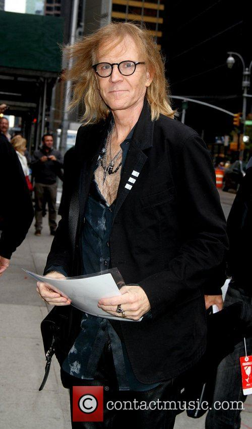 Aerosmith visits the Late Show with David Letterman...