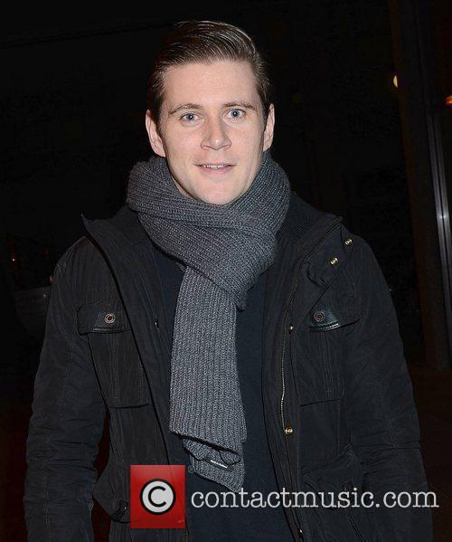 Allen Leech Celebrities outside the RTE studios for...