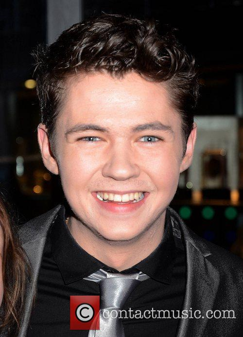 Damian McGinty Celebrities outside the RTE studios for...