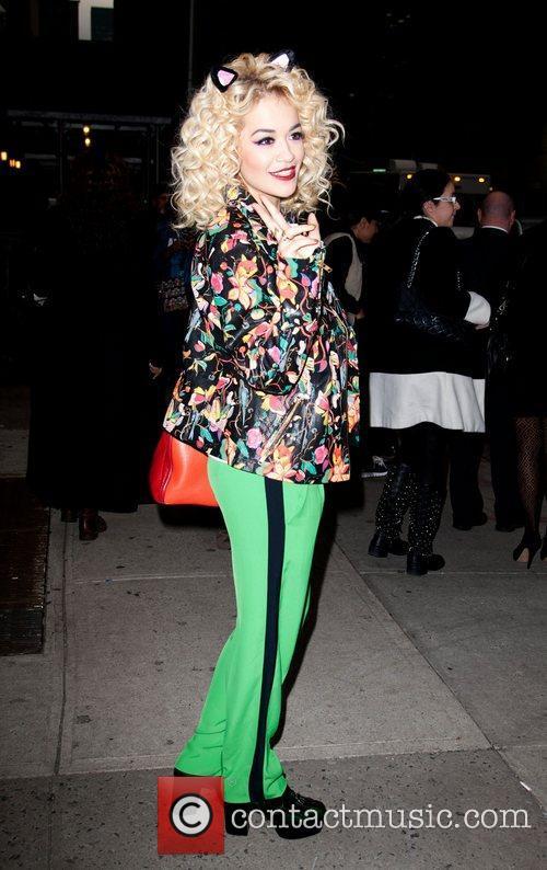 Rita Ora 'The Late Show with David Letterman'...