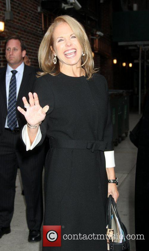 Katie Couric and Ed Sullivan Theatre 3