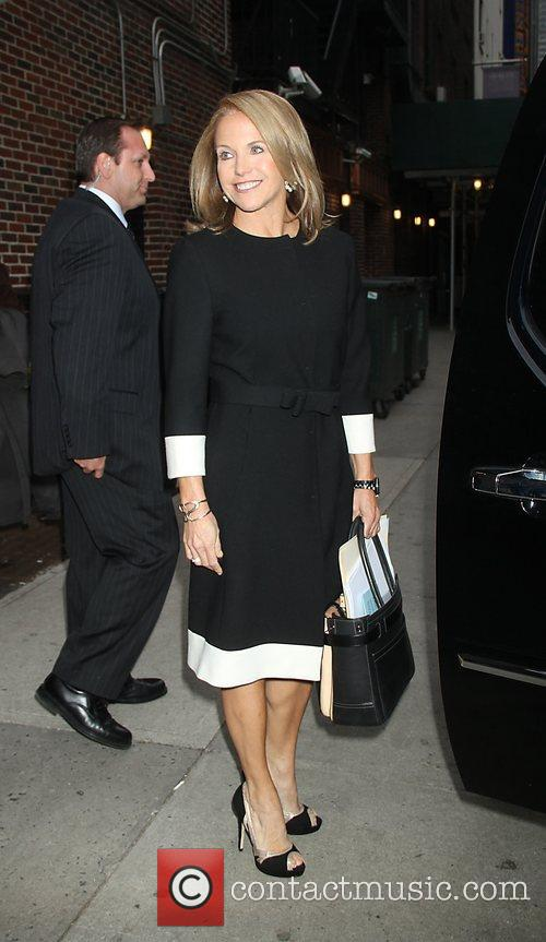 Katie Couric and Ed Sullivan Theatre 4