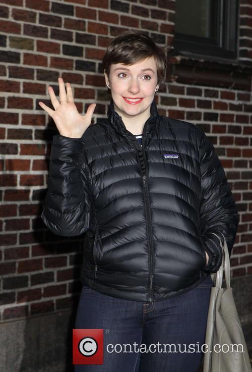Lena Dunham Ed Sullivan