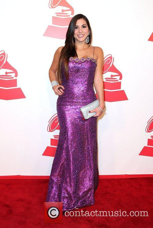 Alexandra Olavarria attends the XIII Annual Latin Grammy...