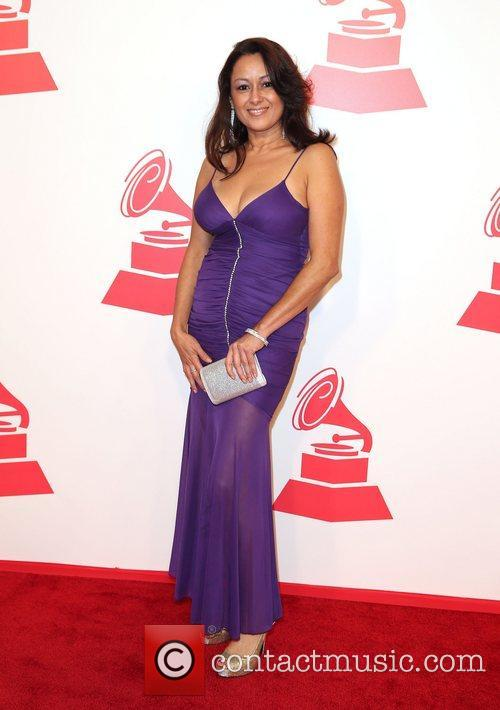 Dawn Diaz attends the XIII Annual Latin Grammy...