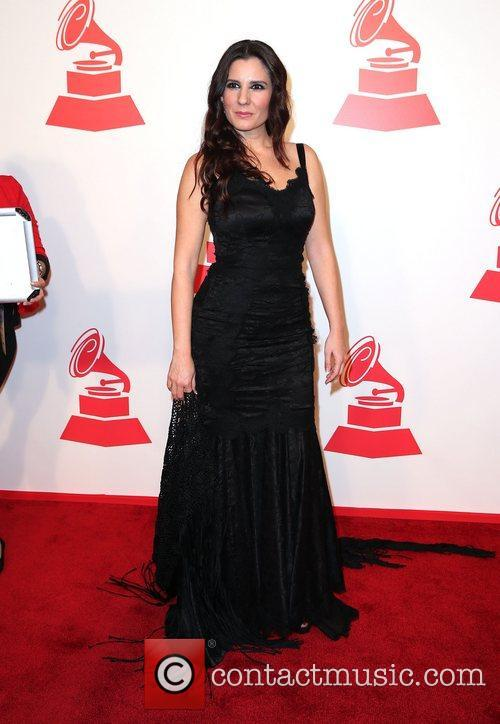 Diana Navarro attends the XIII Annual Latin Grammy...