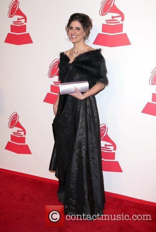 Karla Fioravanta attends the XIII Annual Latin Grammy...