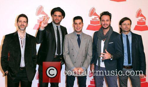 Los Claxons attends the XIII Annual Latin Grammy...