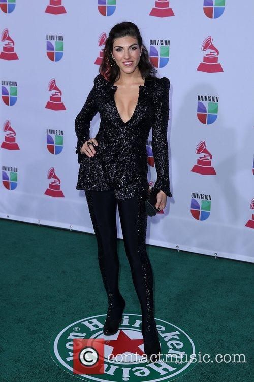 Ana Victoria 13th Annual Latin Grammy Awards held...