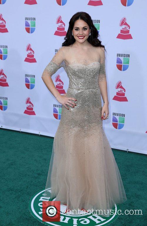 Zuria Vega 13th Annual Latin Grammy Awards held...
