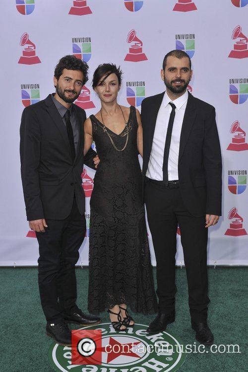 Alexis, Tamara, Sergio 13th Annual Latin Grammy Awards...