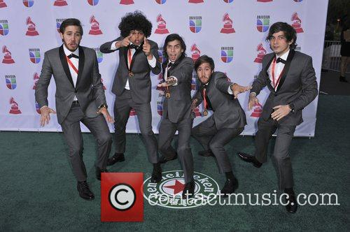 Los Mesoneros 13th Annual Latin Grammy Awards held...