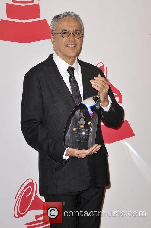 Caetano Veloso 2012 Latin Recording Academy Person of...
