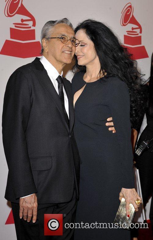 Caetano Veloso and Sonia Braga