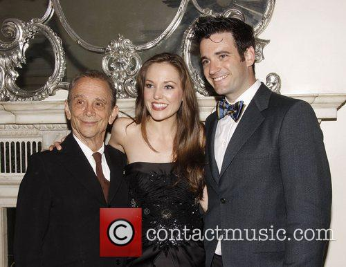 Joel Grey, Laura Osnes and Colin Donnell...