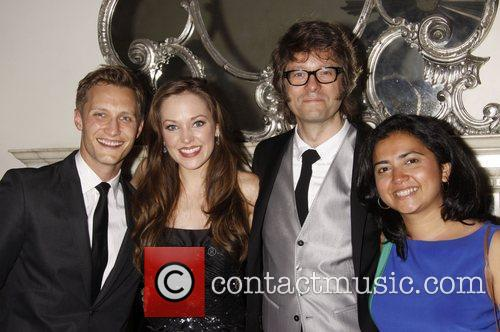 Nathan Johnson, Laura Osnes, Fred Lassen and guest...