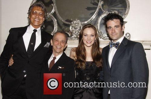 Tommy Tune, Joel Grey, Laura Osnes and Colin...