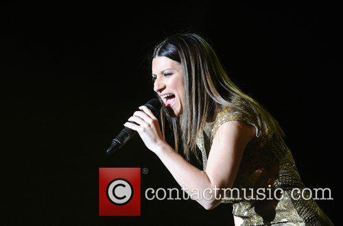 italian singer laura pausini performing in concert 3892117