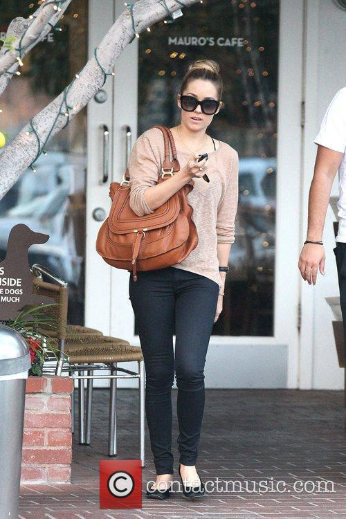 Lauren Conrad leaving Fred Segal in West Hollywood...