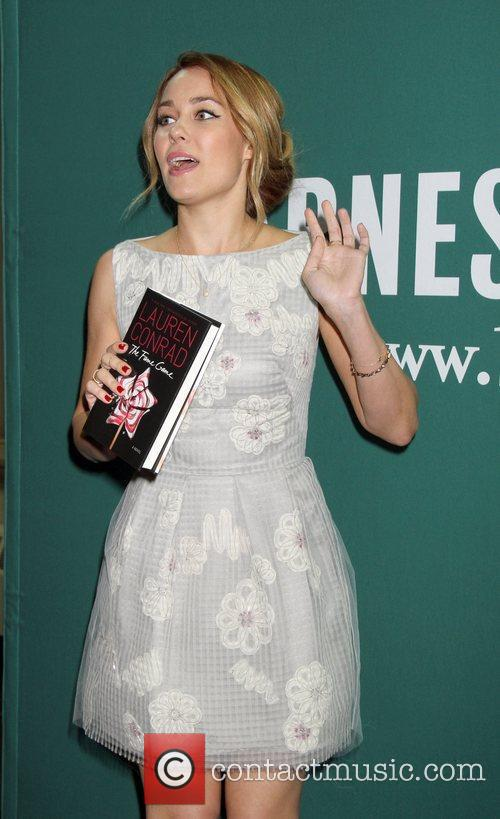 Lauren Conrad signs her new book, 'The Fame...