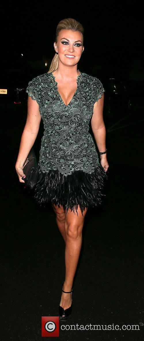 Lauren Goodger's 25th Birthday Party at Mooro's Restaurant...