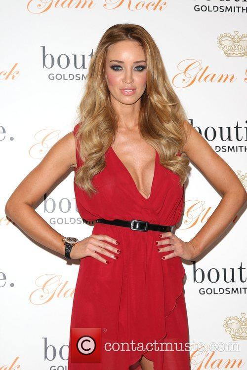 lauren pope promotes us watch brand glam 3657416