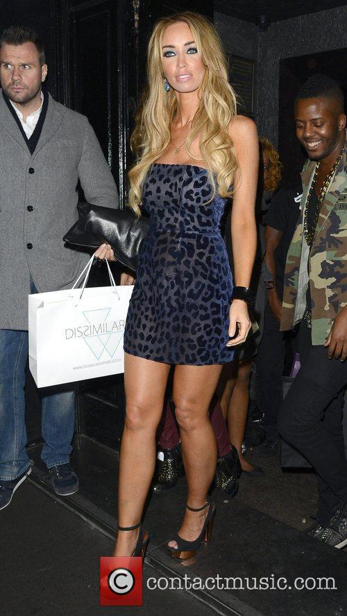 Lauren Pope leaves Anaya club after celebrating her...
