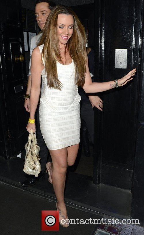 Michelle Heaton Lauren Pope celebrates her birthday with...