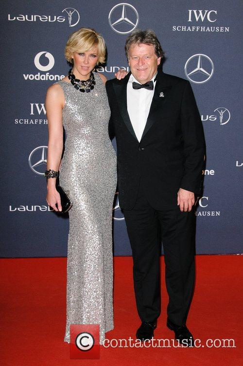 Anne Wis and Norbert Haug Laureus Sport Awards...