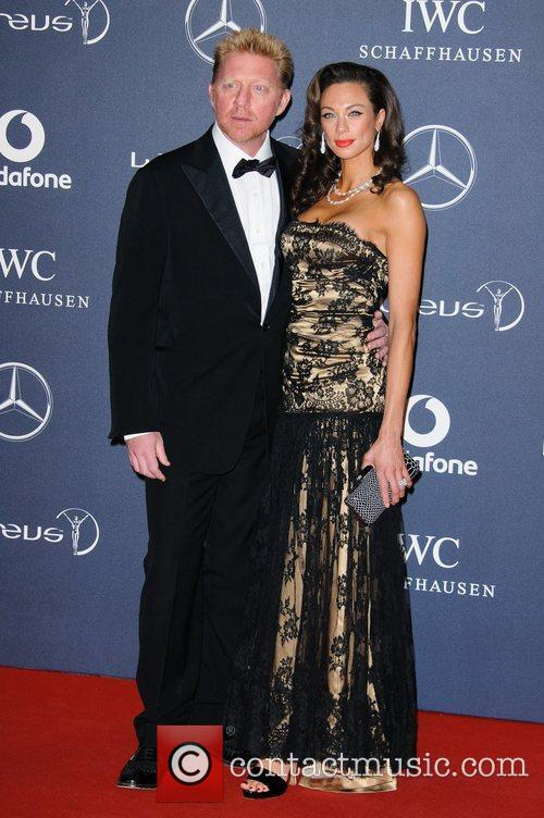 Boris Becker and Sharlely Becker Laureus Sport Awards...