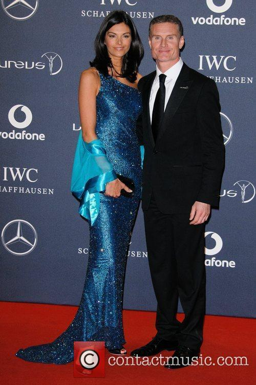 David Coulthard Laureus Sport Awards held at the...