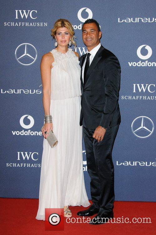 Estelle Cruyff and Ruud Gullit Laureus Sport Awards...