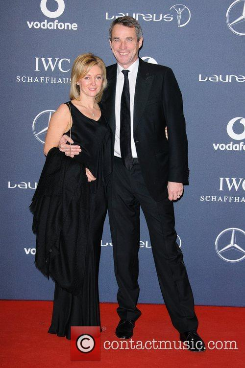 Janet and Alan Hansen Laureus Sport Awards held...