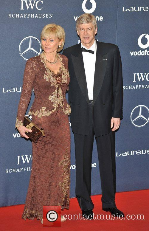 Arsene Wenger and guest Laureus Sport Awards held...