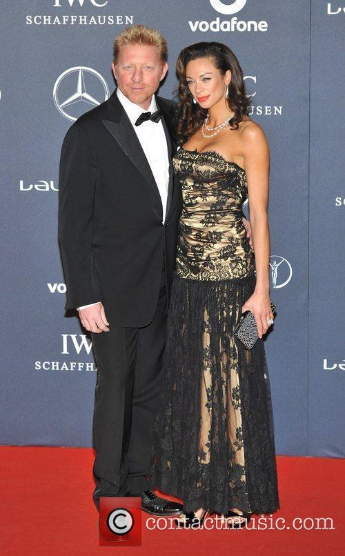 Boris Becker and Lily Becker Laureus Sport Awards...