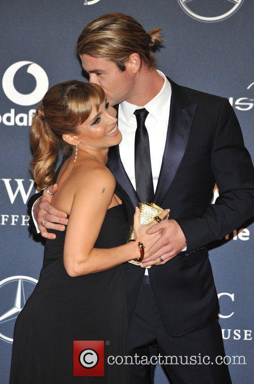 Chris Hemsworth and Elsa Pataky Laureus Sport Awards...