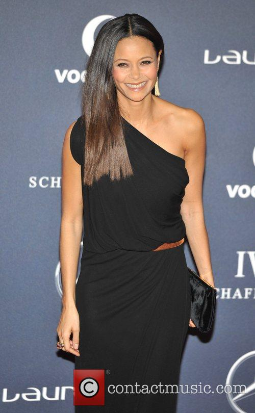 Thandie Newton Laureus Sport Awards held at the...