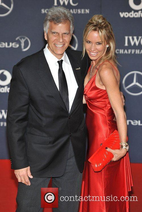 Mark Spitz and Annabelle Bond Laureus Sport Awards...