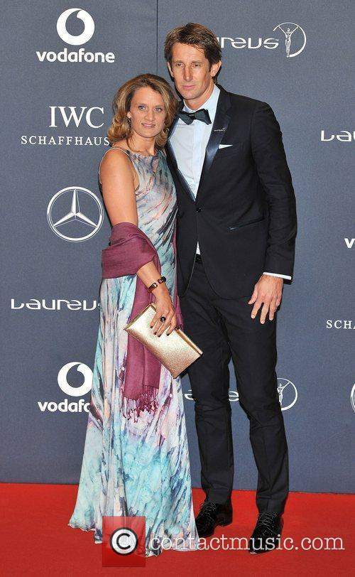 Edwin van der Sar Laureus Sport Awards held...