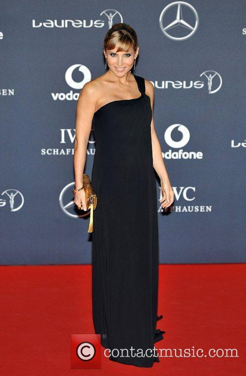Elsa Pataky Laureus Sport Awards held at the...