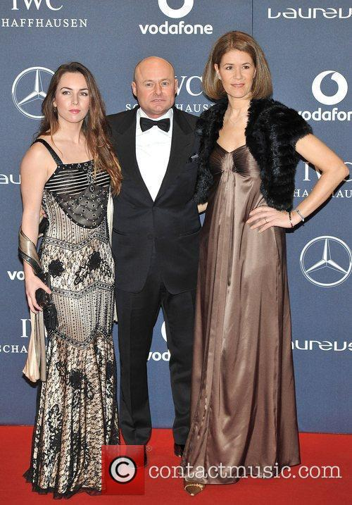 IWC CEO Georges Kern and guests Laureus Sport...
