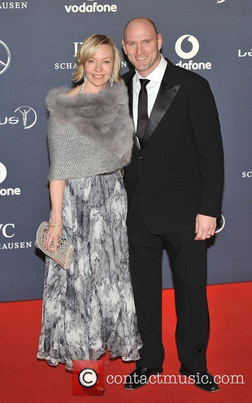 Alice Dallaglio and Lawrence Dallaglio Laureus Sport Awards...