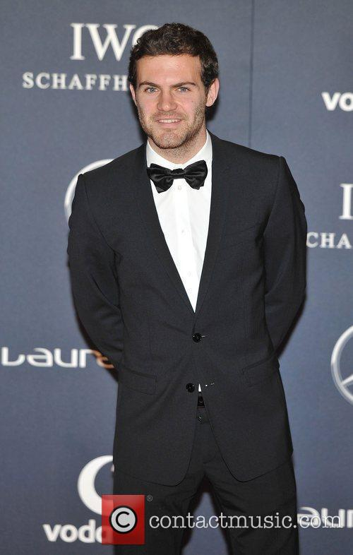 Juan Mata Laureus Sport Awards held at the...