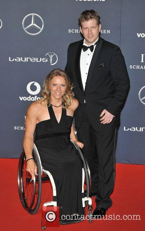 Esther Vergeer Laureus Sport Awards held at the...