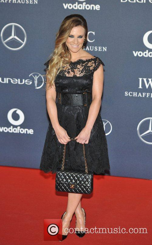 Georgie Porter Laureus Sport Awards held at the...